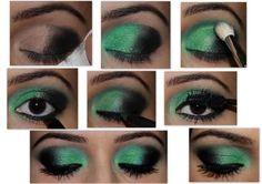 St. Patrick's Day Makeup!