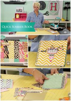 CREATE TO REMEMBER WITH HEIDI SWAPP: QUICK SUMMER BOOK Join Heidi Swapp as she shares a quick and simple idea of taking your left over supplies, photos, tags and more to create a fun Summer book or album. This is the perfect project to do with your kids and let them write down and add photos of their own summer memories.