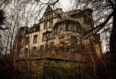 Abandoned mansion in Oppurg, Germany. Formerly used as a children's home & a home for the elderly.