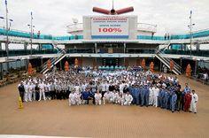 Carnival Dream, obtiene un 100 en inspección sanitaria por sorpresa