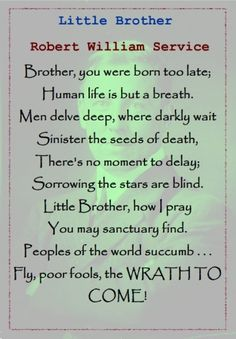 Happy Birthday Brother Quotes And Poems