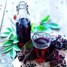 Elderberry cordial - Recipes