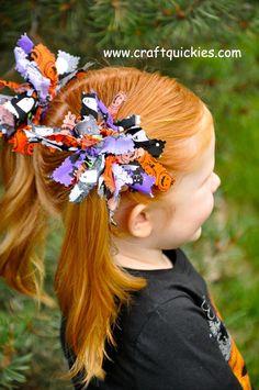 Firecracker Hairbows for that retired fabric stash!!
