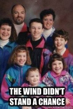 bahaha! @Megan Wilfong I do believe we have a family photo of a whole bunch of modeling this stylish trend!