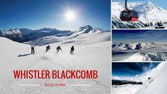 Skiing in  B.C.