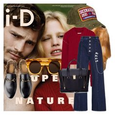 """""""Super Nature: Fall"""" by strangeviolet ❤ liked on Polyvore featuring LISKA, Dsquared2, MM6 Maison Margiela, Sonia Rykiel, Steve Madden and shoptilyoudrop"""