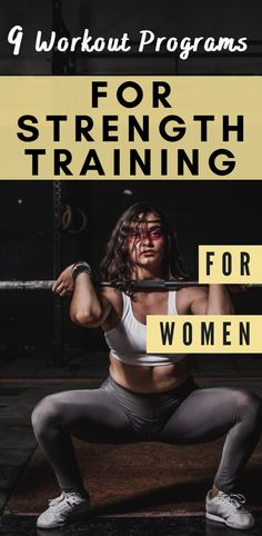 9 Strength Training Workout Programs For Women