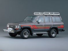 Cars in studio — Toyota Land Cruiser 60 GX (1987)