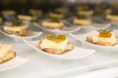 Talegio Cheese, watermelon preserve, ciabatta  paired with Bon Vallon Chardonnay 2014 #ThePalazzo #Montecasino #Tsogosun #DeWetshof #Robertson #Chardonnay #SouthAfrica