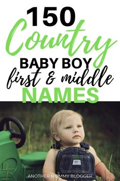 150 Country Baby Boy First And Middle Names You're Going To Love. Choose the best baby boy names f. - 150 Country Baby Boy First And Middle Names You're Going To Love. Choose the best baby boy names f. Boy Middle Names Unique, Baby Boy Middle Names, Names For Boys List, Unique Baby Boy Names, Little Boy Names, Baby Girl Names, Boys Names For Girls, Best Boy Names, Earthy Boy Names