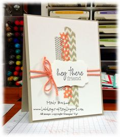 Bada-Bing! Paper-Crafting!: Hey There Friends!