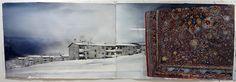 Lars Lerin - Hagfors Teheran. Del av akvarell.