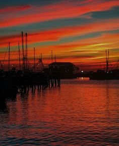 There is nothing quite as romantic as a Mississippi sunset. Gulfport Mississippi, Mississippi State, Pass Christian, Roadside Attractions, Gulf Of Mexico, Beach Town, Cool Pictures, Sunrise, Coastal