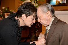 Nancy Jones and Little Jimmy Dickens (2013 - George Jones memorial ...