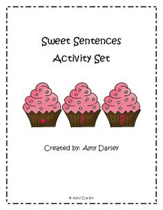 Literacy center - types of sentences