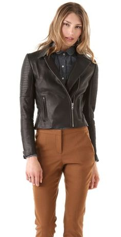 A.L.C. Margaux Leather Jacket