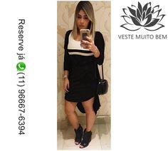 Vestido Tubinho de Crepe PMGGG R$ 9000 (Reservas pelo Whatsapp (11)96667-6394)