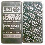 Johnson Matthey 10 Oz Silver Bar  $239.20