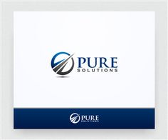 Pure Solutions Logo Logo Design by south door