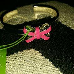 Vera Bradley Silver Bow Cuff Bracelet Black Friday Brand New With Tags Super