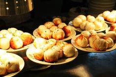 Fried buns, Shanghai food.