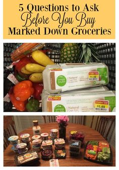 Should you REALLY buy those marked down groceries you find? This is a must-read post for anyone who wants to save money on groceries.