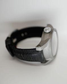 Unique Schofield Super Grey Beater Bare Bones...#rarethings #leather #straps #luxury #watches #schofield