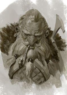 Another dwarf by Mischeviouslittleelf (Even Mehl Amundsen)