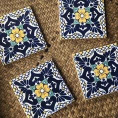 Spanish Mansion, Spanish Style Homes, Tile Coasters, Mexican, Etsy, Design, Home, Spanish Style Houses