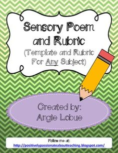 Poetry Questions - All Grades