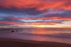 Love Barney's picture of Dicky Beach in Australia, just amazing.
