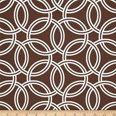 Michael Miller Bekko Home Decor Swirl Brown fabric.com 14.98