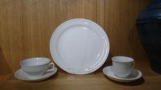 Det RIFLEDE Porsgrund Porselen. Tias Eckhoff Plates, Tableware, Kunst, Licence Plates, Dishes, Dinnerware, Griddles, Tablewares, Dish