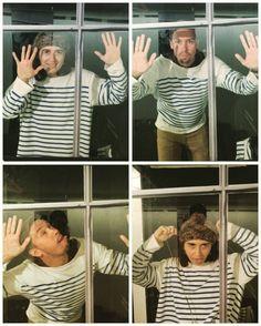 via Instagram rinatos10: Das Fenster zur Welt, oder getting crazy with Mariam. Picasso exebition, Hamburg#gettingcrazy#picasso #collage#funinmuseum