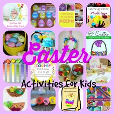 Easter Crafts and Activities from Teach Beside Me