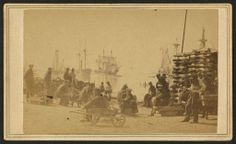 Coaling Farragut's fleet at Baton Rouge 1863