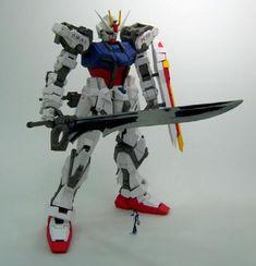 GAT-X105 Strike Gundam Free Papercraft Download - http://www.papercraftsquare.com/gat-x105-strike-gundam-free-papercraft-download.html#160, #GATX105, #GATX105StrikeGundam, #Gundam, #MobileSuitGundamSEED, #PG, #StrikeGundam