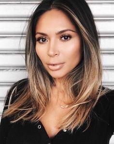Pinterest: DEBORAHPRAHA ♥️ Ombre hair color for brunettes with short or medium length hair #ombre