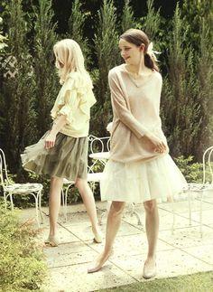 FELISSIMO (Company of mail order). haco 2012 Autumn (Ladies Fashion Catalog).   Tutu Skirt. Kawaii Girly Fashion.