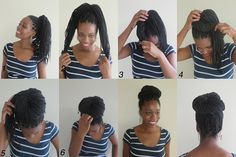 Box Braids Hairstyle. How to create the Simple Bun How To Style Box Braids, Braids Hairstyles, Simple Buns, Met Boxes, Everyday Ahahaha, How To Style Braids Box, Braids Style, Boxes Braids, Box Braids Bun How To