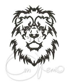 20 free lion and leo tattoos + meaning. Designs include tribal lion tattoos, lion heads & lion of Judah. Lion Tribal, Tribal Lion Tattoo, Lion Head Tattoos, Lion Tattoo Design, Leo Tattoos, Lion Design, Girl Tattoos, Tattoo Designs, Tattoo Ideas