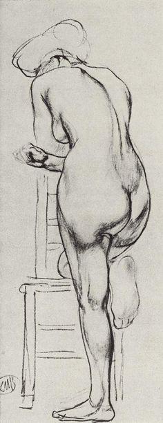 1906~1907 MODEL, Kuzma Petrov-Vodkin (1878~1939)