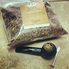 Waking up to Cornell & Diehl's Bayou Morning pipe tobacco blend. Composed of red and bright Virginias and 25% St. James Parish Perique. We are using a Rossi Rustic pipe of Italian origin.