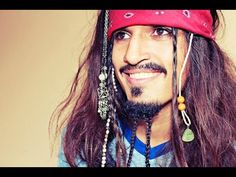 Jack Sparrow Makeup Tutorial | Transformation (Jack Sparrow Makeup & Hair) - YouTube