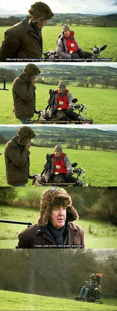 Hammond and Clarkson discuss May British Humor, British Comedy, Top Gear Funny, Clarkson Hammond May, Grand Tour, Best Shows Ever, Best Tv, Funny Design, Funny Posts
