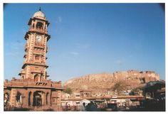 The famous 'clock tower' of Jodhpur