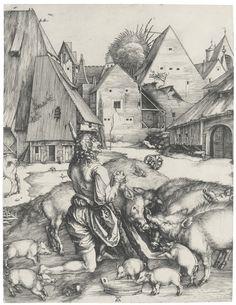 Albrecht Dürer (1471 – 1528, The prodigal son  (B. M., Holl. 28)
