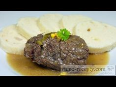 Precise and detailed written recipe that can handle according to our videorecipe quite brilliantly! Czech Recipes, Rice Dishes, Mediterranean Diet, Food Videos, Steak, Spanish, Rolls, Beef, Canning