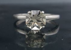 This+Oregon+Sunstone+was+personally+cut+by+me.+The+weight+is+1.1+carats+and+is+approximately+6.8+mm.+The+stone+has+a+beautiful+clear+to+champagne+color+and+is+set+in+a+size+6+sterling+silver+(925)+ring.+    I+have+added+the+pattern+so+you+can+see+exactly+what+you+are+getting.+You+will+not+find+th...