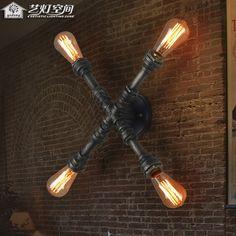 Kunst Und Licht Gewerbeflächen Retro Stil Kunst Armaturen Wandleuchten  Wandleuchte Nachttischlampe Persönlichkeit Nostalgie(China